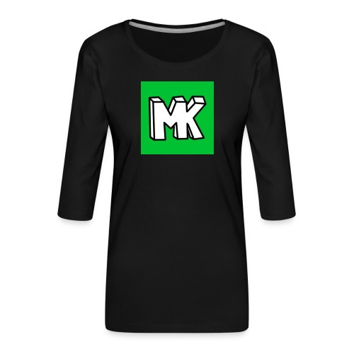 MK - Vrouwen premium shirt 3/4-mouw