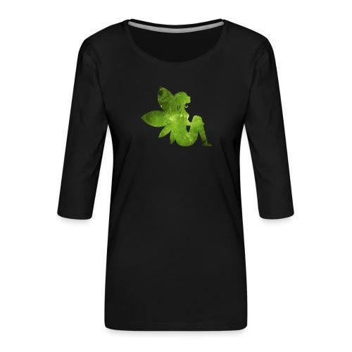Green fairy - Premium T-skjorte med 3/4 erme for kvinner