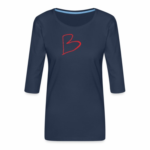 limited edition B - Women's Premium 3/4-Sleeve T-Shirt