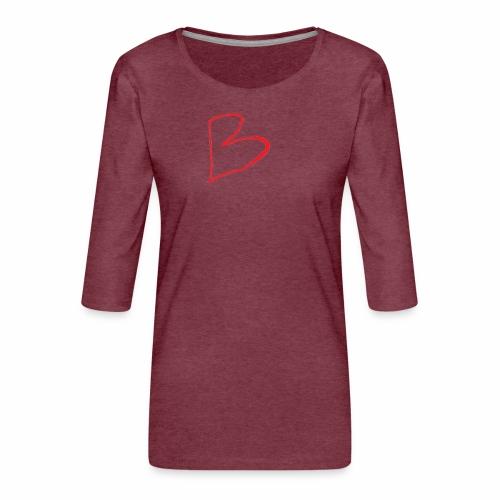 limited edition B - Women's Premium 3/4-Sleeve T-Shirt