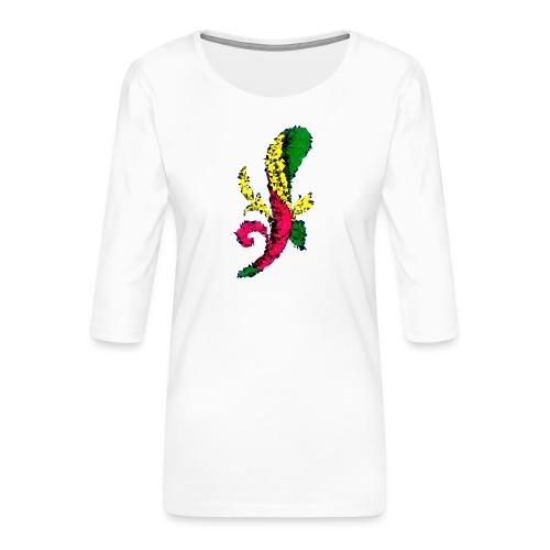 Asso bastoni - Maglietta da donna premium con manica a 3/4