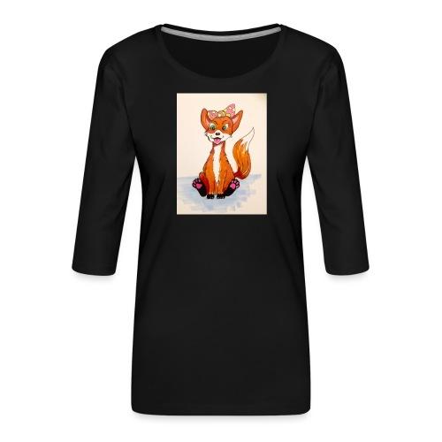 7095A012 2DFD 428F A704 98066BE12671 - Women's Premium 3/4-Sleeve T-Shirt