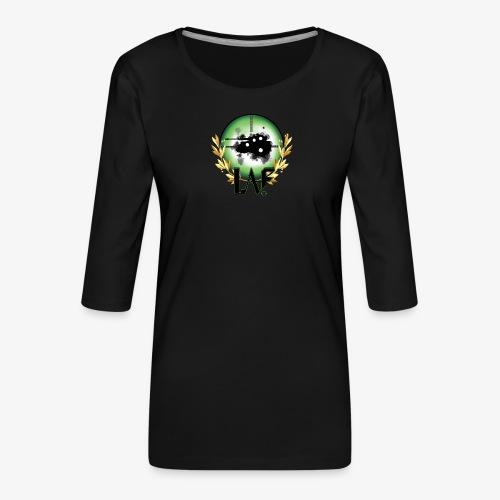 Load Aim Fire Merchandise - Vrouwen premium shirt 3/4-mouw