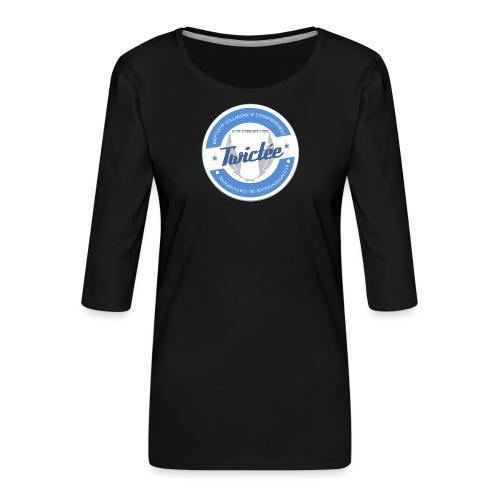 logo twictee - T-shirt Premium manches 3/4 Femme