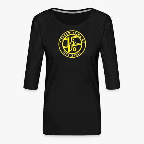 ViVoPAITA transparent - Naisten premium 3/4-hihainen paita