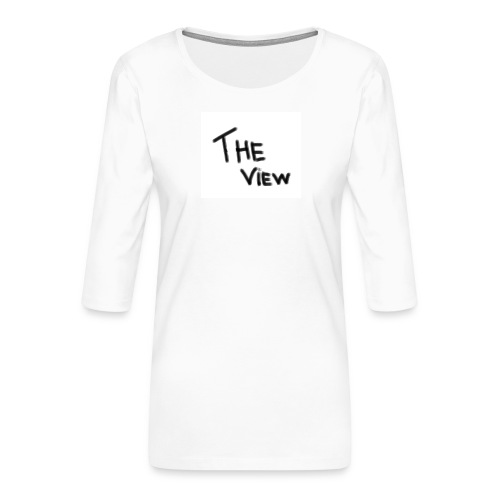 Untitled - Vrouwen premium shirt 3/4-mouw