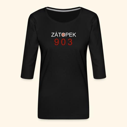 Zatopek 903 - Frauen Premium 3/4-Arm Shirt