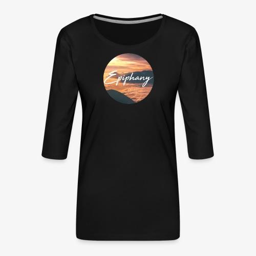 Epiphany - Premium-T-shirt med 3/4-ärm dam