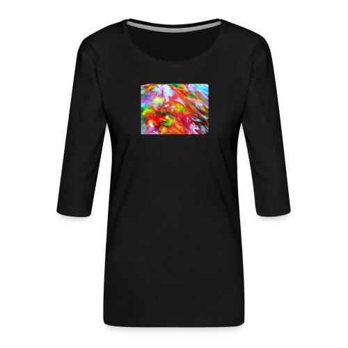 abstract 1 - Women's Premium 3/4-Sleeve T-Shirt