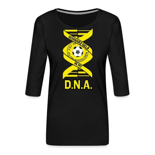 Hildburghausen FSV 06 - IN MY D.N.A. - Frauen Premium 3/4-Arm Shirt