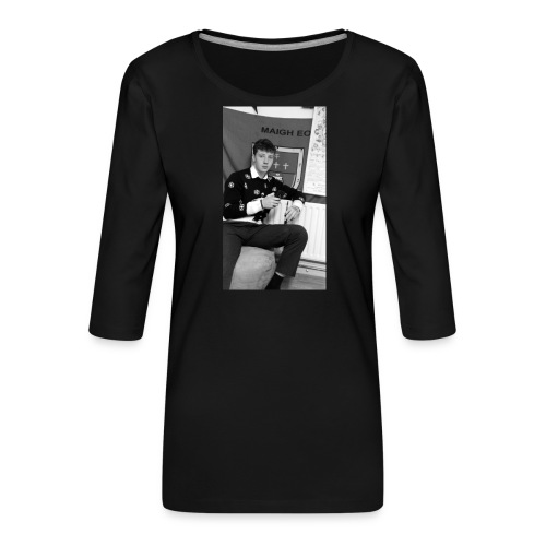 el Caballo - Women's Premium 3/4-Sleeve T-Shirt