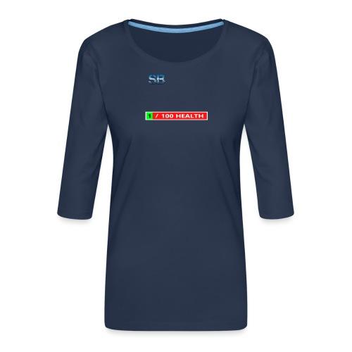Health Tee Oh Shiiet! - Dame Premium shirt med 3/4-ærmer