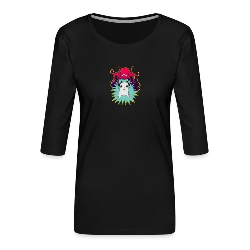 Leave Me Alone - Koszulka damska Premium z rękawem 3/4