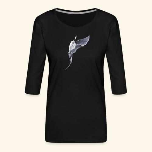 Weißschwanz Tropenvogel - Frauen Premium 3/4-Arm Shirt