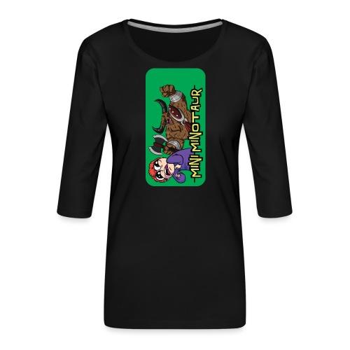 iphone 44s01 - Women's Premium 3/4-Sleeve T-Shirt