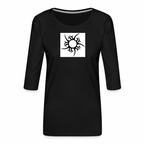 tribal sun - Women's Premium 3/4-Sleeve T-Shirt