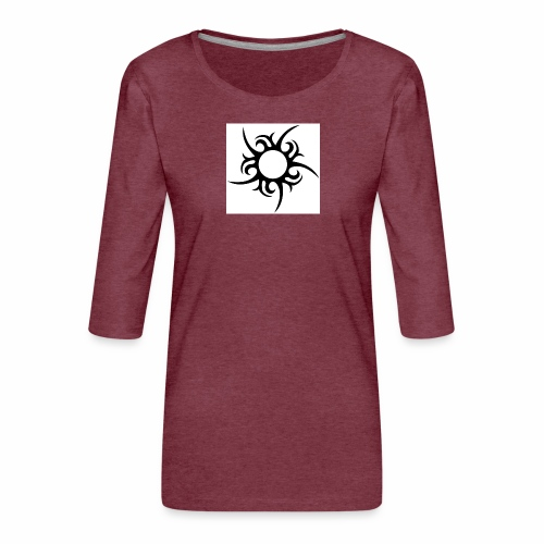tribal sun - Women's Premium 3/4-Sleeve T-Shirt