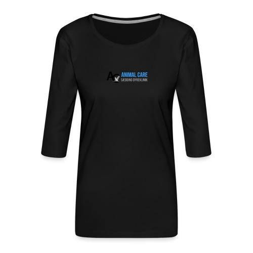 Sædding_Dyreklinik_ by Lattapon - Dame Premium shirt med 3/4-ærmer