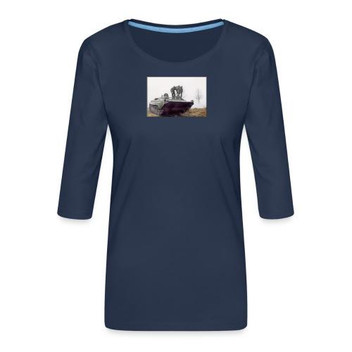 bwp2 - Koszulka damska Premium z rękawem 3/4