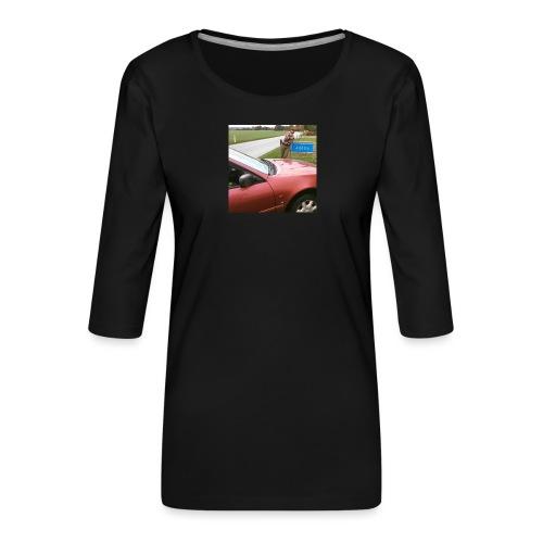 14681688 10209786678236466 6728765749631121648 n - Dame Premium shirt med 3/4-ærmer