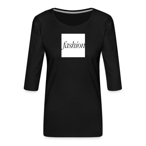 fashion - Vrouwen premium shirt 3/4-mouw
