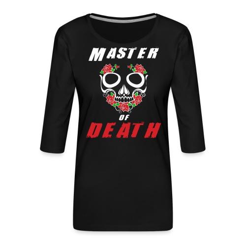 Master of death - white - Koszulka damska Premium z rękawem 3/4
