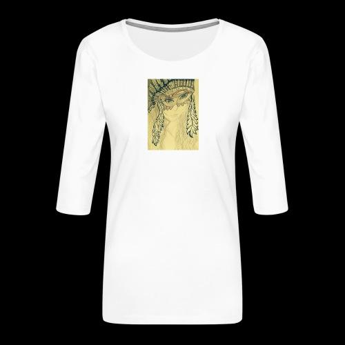 IMG 0680 2 - Vrouwen premium shirt 3/4-mouw