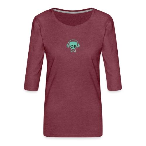 Gamer Design - Dame Premium shirt med 3/4-ærmer