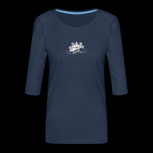 SamShaky - Naisten premium 3/4-hihainen paita