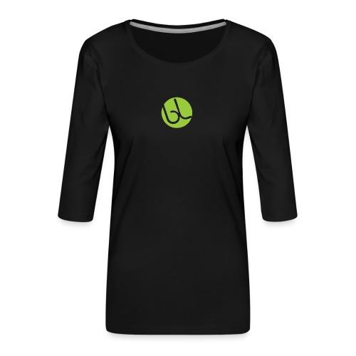 IMG_0149-PNG - Dame Premium shirt med 3/4-ærmer