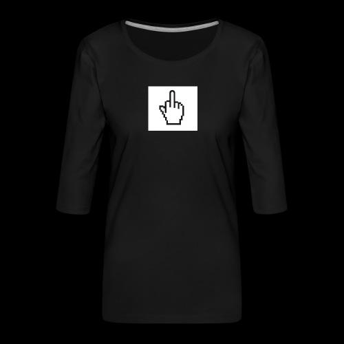 IMG 0451 JPG - Vrouwen premium shirt 3/4-mouw