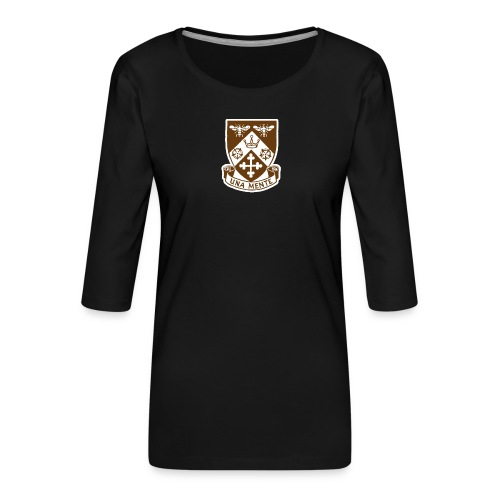 Borough Road College Tee - Women's Premium 3/4-Sleeve T-Shirt