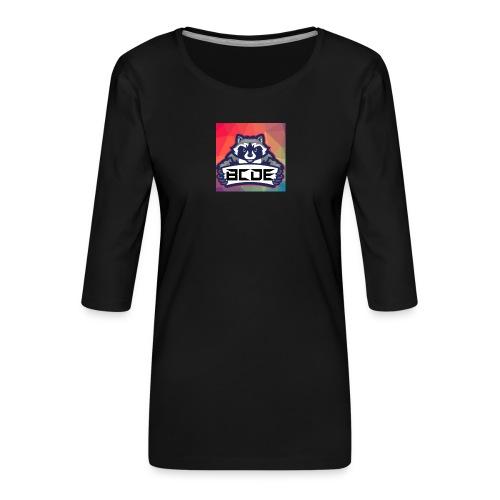 bcde_logo - Frauen Premium 3/4-Arm Shirt
