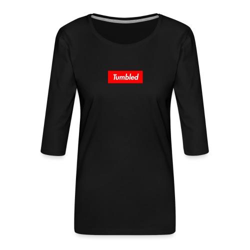 Tumbled Official - Women's Premium 3/4-Sleeve T-Shirt