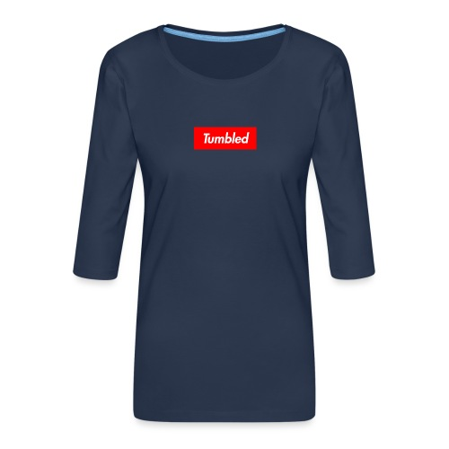 Tumbled Official - Women's Premium 3/4-Sleeve T-Shirt