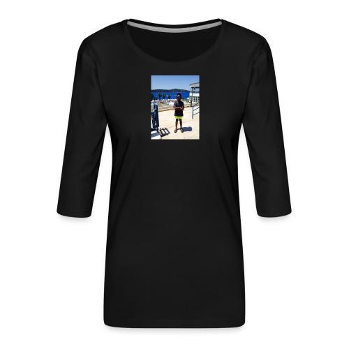 IMG 0717 - Dame Premium shirt med 3/4-ærmer