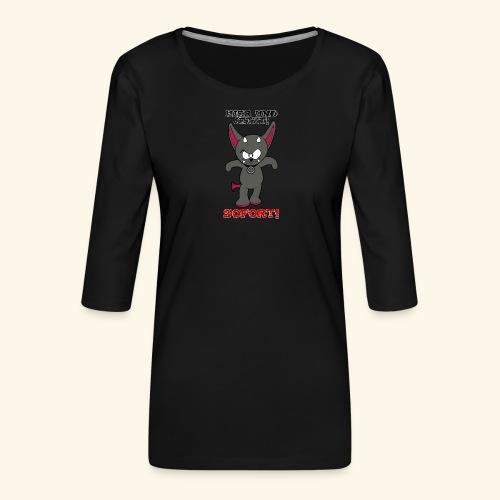 Zwergschlammelfen - Hier und Jetzt, Sofort! - Frauen Premium 3/4-Arm Shirt