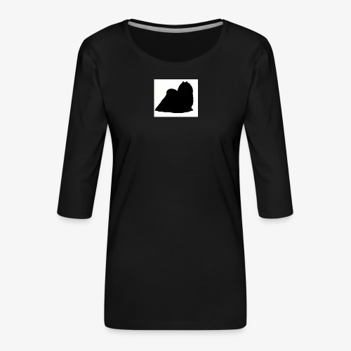 Maltese - Women's Premium 3/4-Sleeve T-Shirt