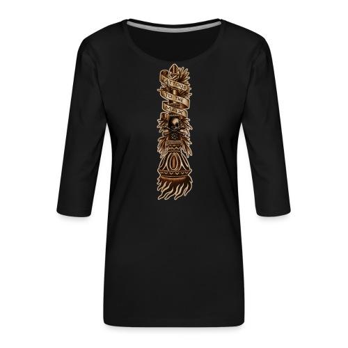 Torch Fackel Tattoos to the Max - Frauen Premium 3/4-Arm Shirt