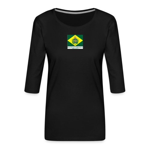 Brazil 200 years independence - Premium T-skjorte med 3/4 erme for kvinner