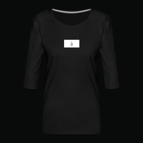 bafti long sleeve tee - Dame Premium shirt med 3/4-ærmer