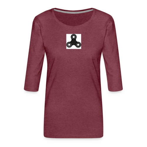 SPINNERIJONNEN UNELMA!!!!!!!!!!!!!! - Naisten premium 3/4-hihainen paita