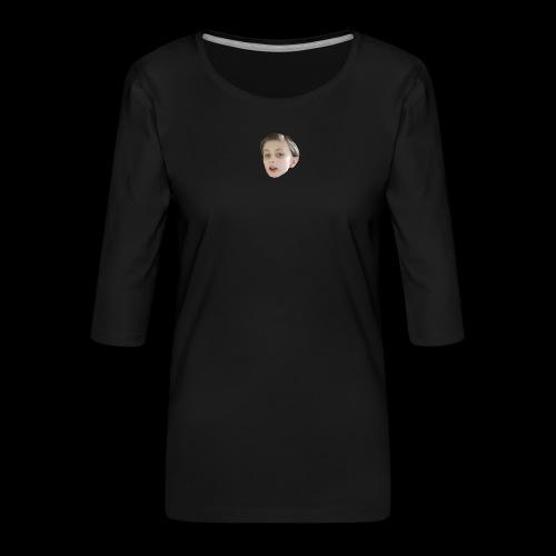 gurkis idol - Premium-T-shirt med 3/4-ärm dam