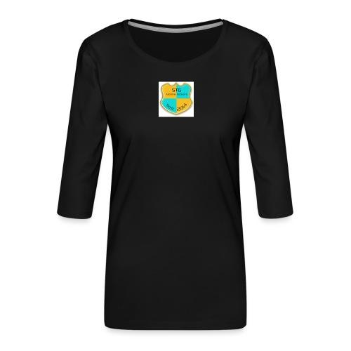 STG Vienna Kickers Logo - Frauen Premium 3/4-Arm Shirt
