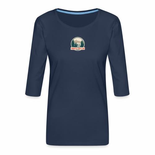 Tawastia Trail Logo - Naisten premium 3/4-hihainen paita