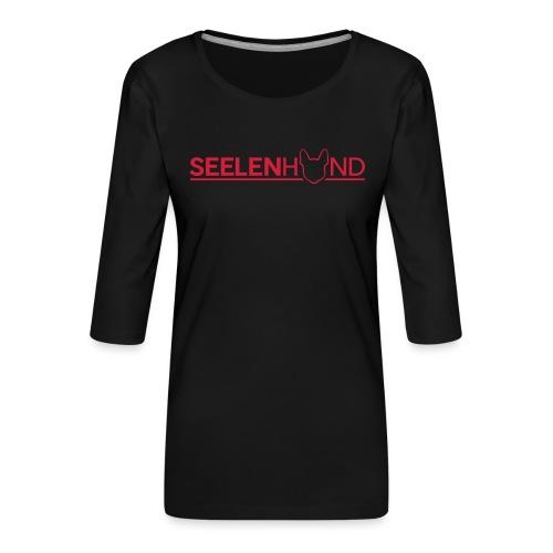 Seelenhund - Frauen Premium 3/4-Arm Shirt