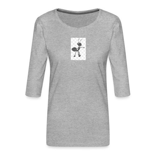 YouTube merche 2018 - Vrouwen premium shirt 3/4-mouw