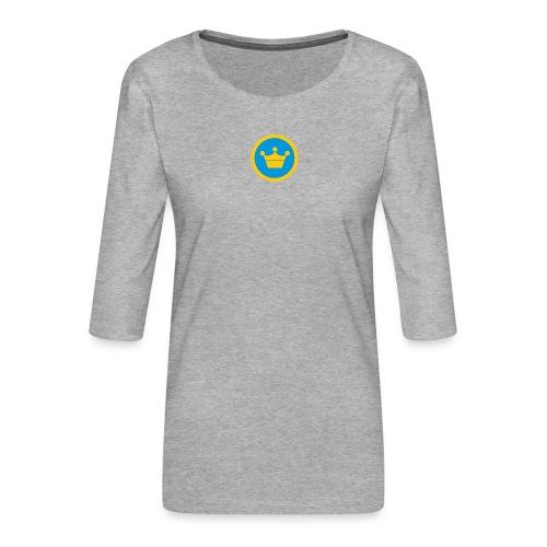 foursquare supermayor - Camiseta premium de manga 3/4 para mujer