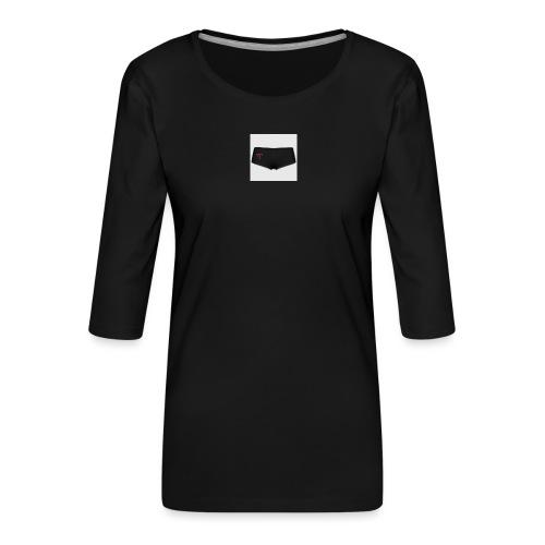 160369103 width 300 height 300 appearanceId 2 back - Dame Premium shirt med 3/4-ærmer