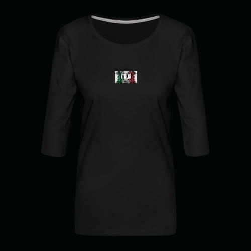hardcore1 - T-shirt Premium manches 3/4 Femme